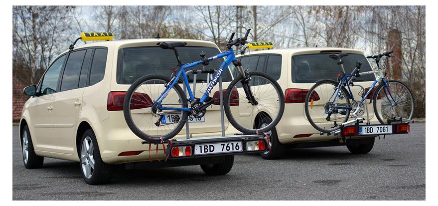 taxi znojmo - cyklo taxi
